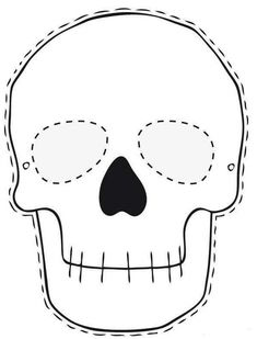 skeleton mask printable pinterest skeleton printable mask