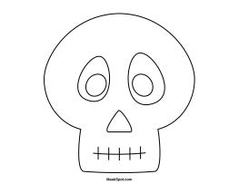 skeleton mask printable printable skull mask printable skeleton mask