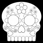 skeleton mask printable yucca flats nm wenchkin39s coloring pages sugar skull printable mask skeleton