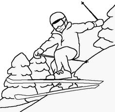 skiing coloring pages 13 best skiing images skiing coloring pages coloring pages skiing coloring