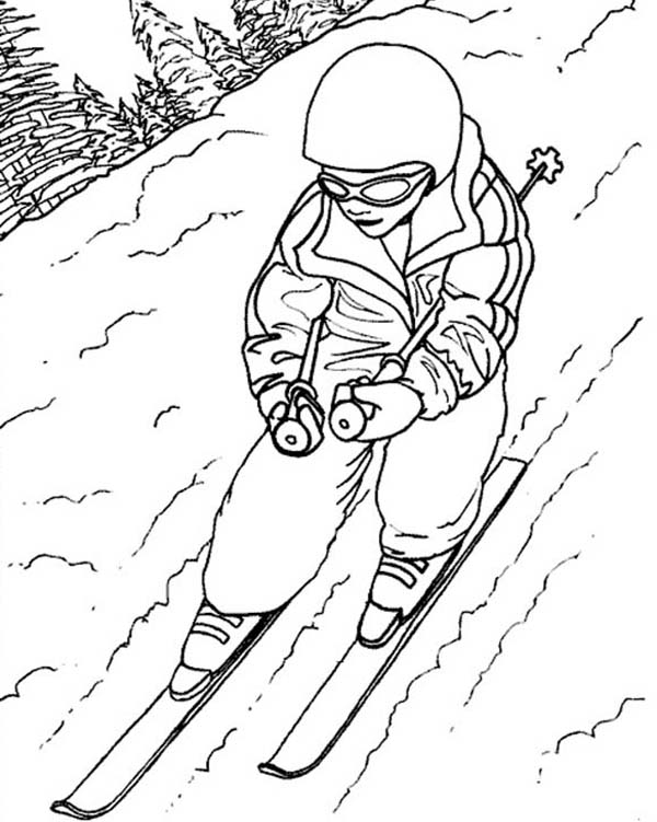 skiing coloring pages how to draw people skiing coloring page coloring sky skiing pages coloring