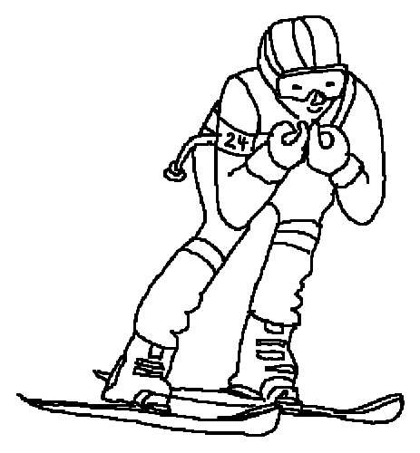 skiing coloring pages skiing coloring pages kidsuki coloring skiing pages