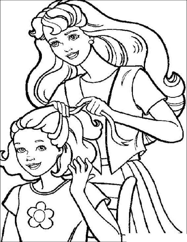 skipper coloring pages barbie and skipper barbie coloring barbie coloring skipper pages coloring