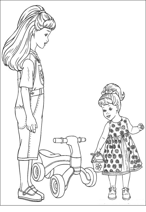 skipper coloring pages barbie and skipper coloring pages coloringsnet pages skipper coloring