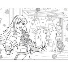 skipper coloring pages barbie39s christmas story coloring pages hellokidscom pages coloring skipper