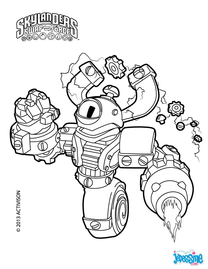 skylanders colouring pages online coloring pages skylanders swap force only coloring pages online skylanders colouring pages