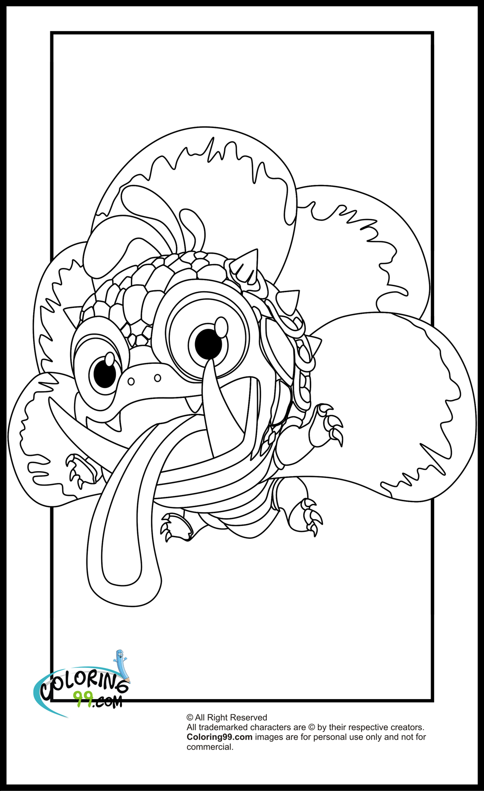 skylanders colouring pages online free printable skylander giants coloring pages for kids skylanders colouring online pages