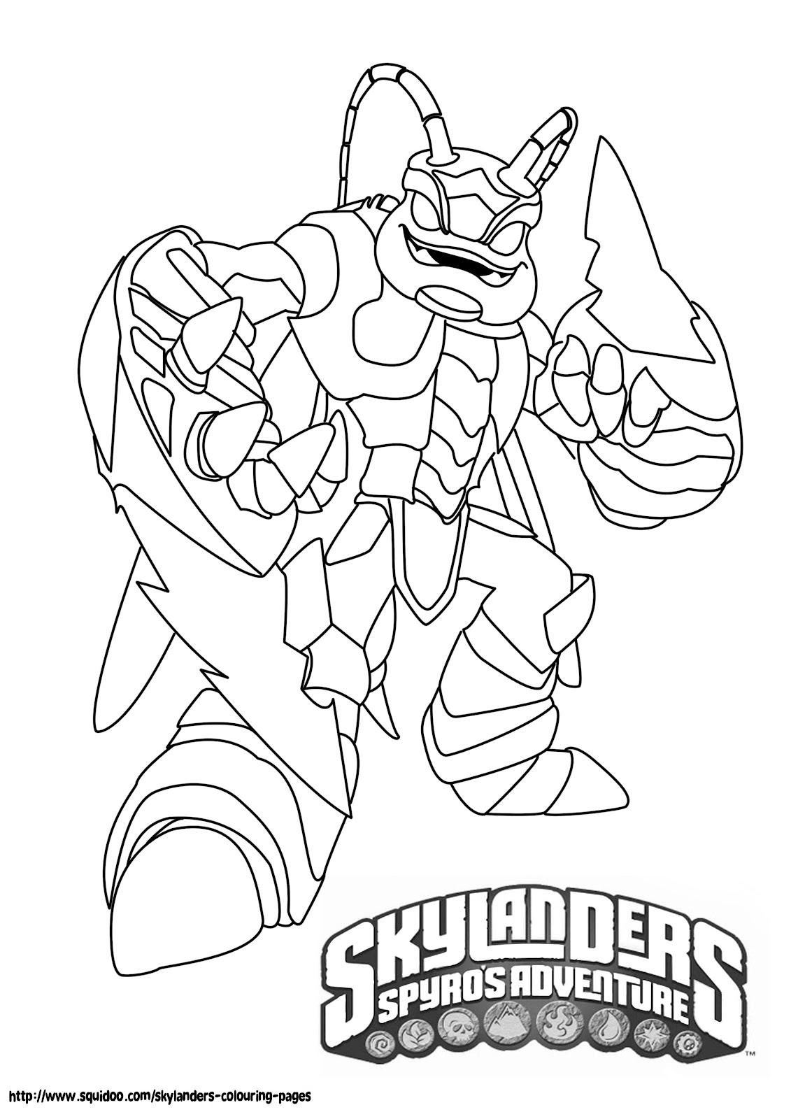 skylanders colouring pages online printable skylanders coloring pages pages colouring skylanders online