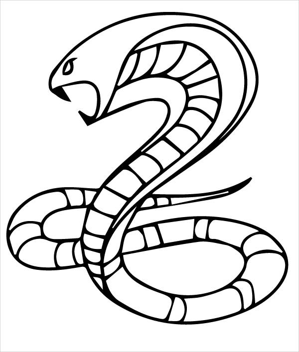 snake colouring pages march 2010 colouring pages snake