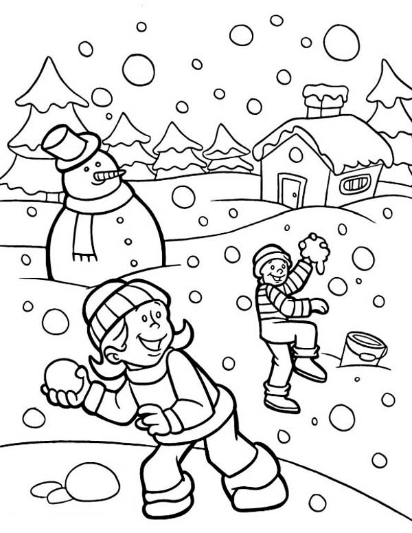 snow coloring page snow worksheet educationcom snow coloring page