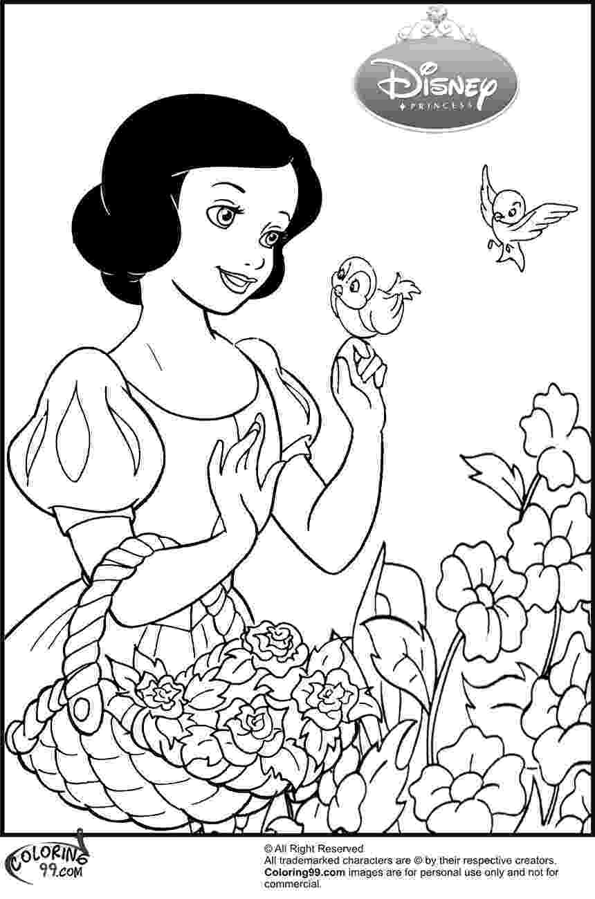 snow white coloring snow white coloring pages from disney princess cartoon white coloring snow