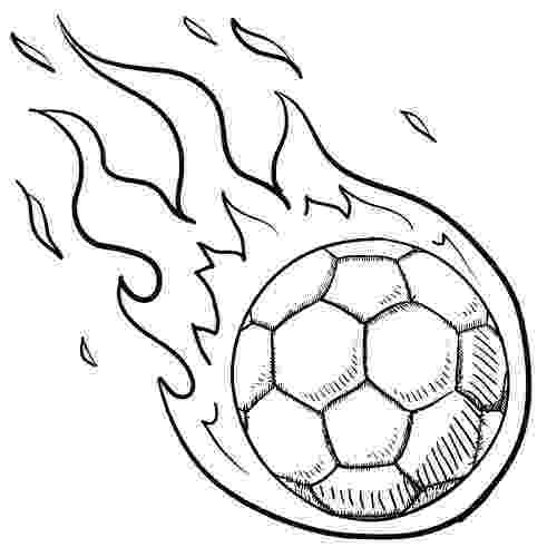soccer coloring pages for kids soccer ball in flames for kids soccer drawing art pages coloring for soccer kids