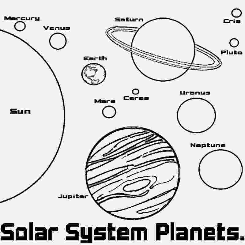 solar system coloring solar system on pinterest solar system solar system system solar coloring