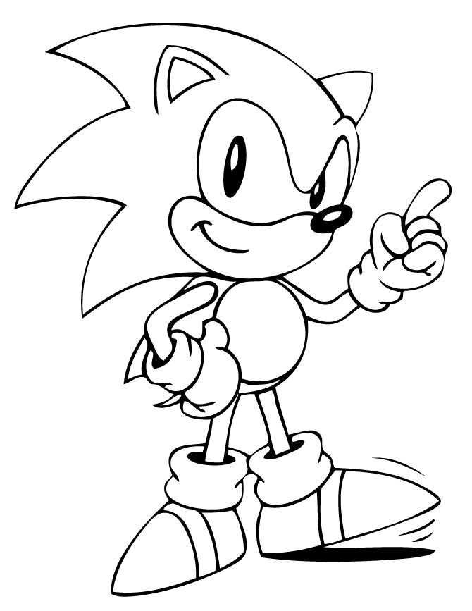 sonic coloring page free printable sonic the hedgehog coloring pages for kids page sonic coloring