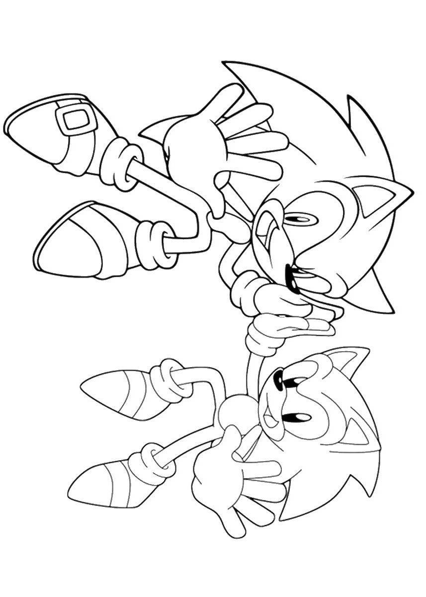 sonic coloring page sonic the hedgehog coloring pages getcoloringpagescom sonic page coloring 1 1