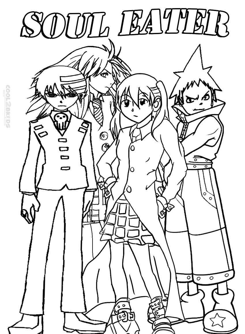 soul eater colouring pages 23 best sword art online coloring images on pinterest eater soul pages colouring