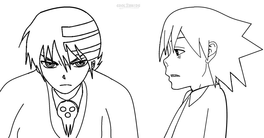 soul eater colouring pages soul eater coloring pages colouring soul pages eater