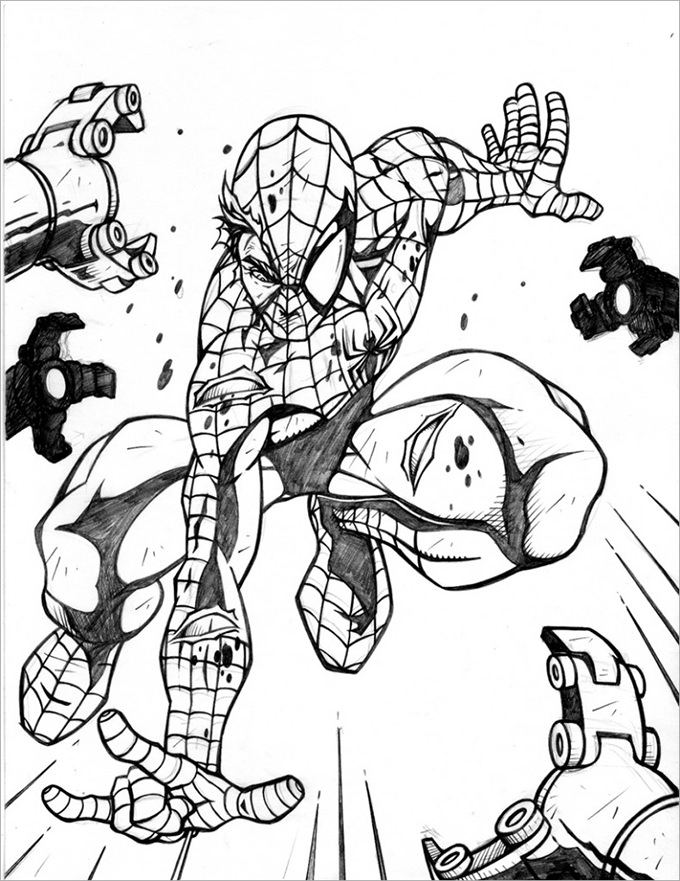 spiderman coloring page 30 spiderman colouring pages printable colouring pages free premium templates coloring page spiderman 1 1