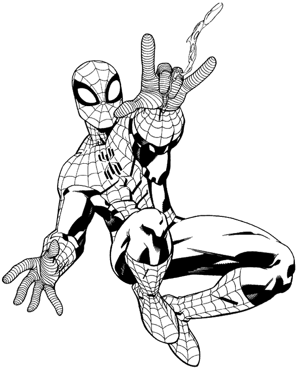 spiderman coloring page high quality spiderman colouring pages 28 to print for free spiderman page coloring