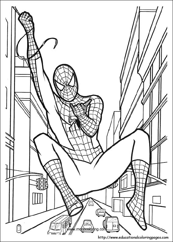 spiderman coloring page kids spiderman coloring pages coloring page spiderman