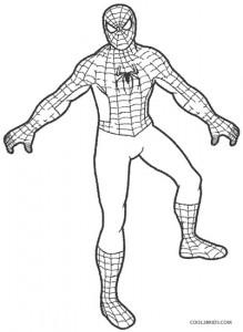spiderman coloring page printable spiderman coloring pages for kids cool2bkids spiderman page coloring 1 1