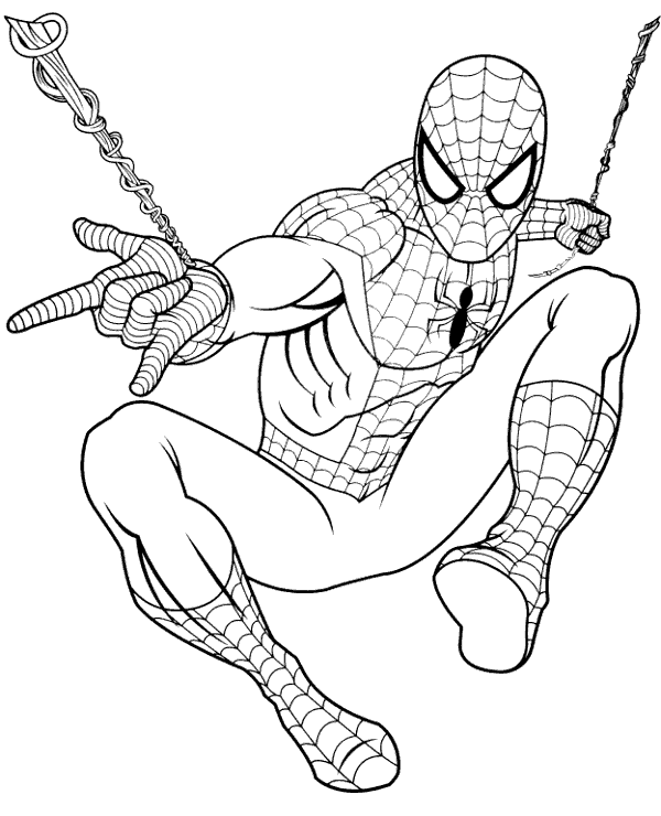 spiderman coloring page spiderman in action coloring book topcoloringpagesnet page spiderman coloring