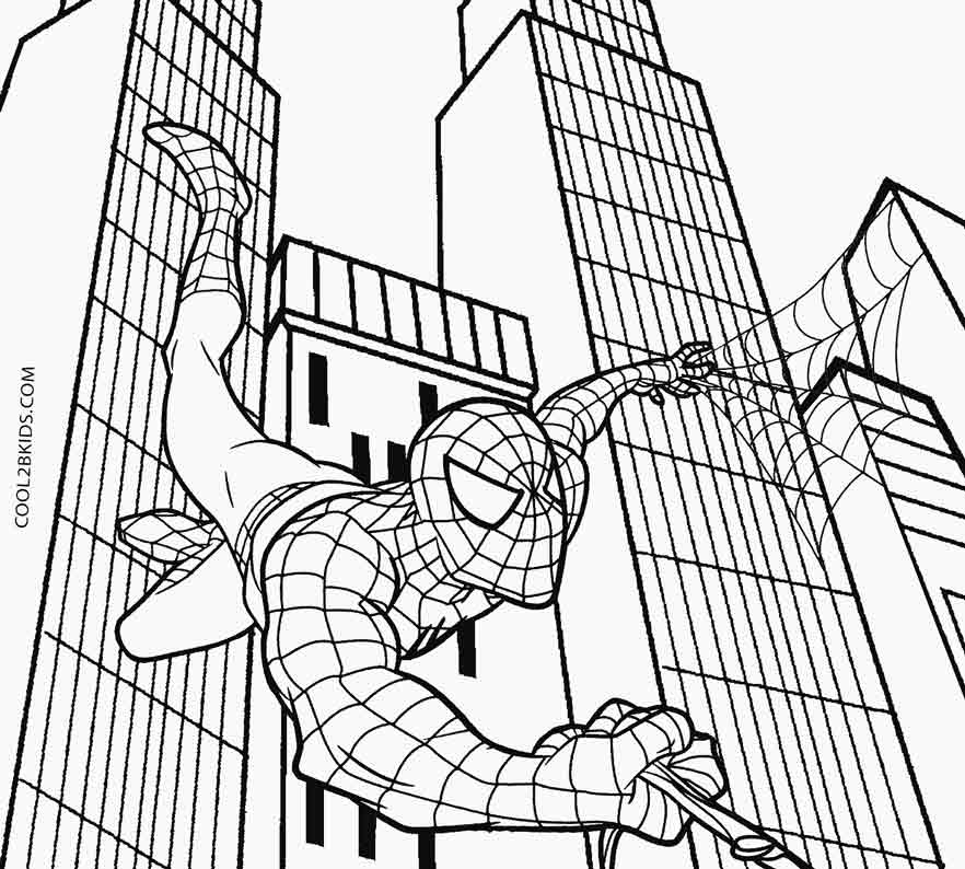 spiderman coloring page spiderman to print for free spiderman kids coloring pages spiderman page coloring