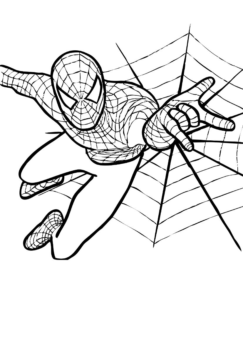 spiderman colouring pics coloring pages spiderman free printable coloring pages colouring spiderman pics