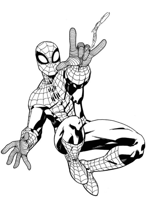 spiderman colouring pics spider man coloring page spiderman coloring superhero colouring spiderman pics