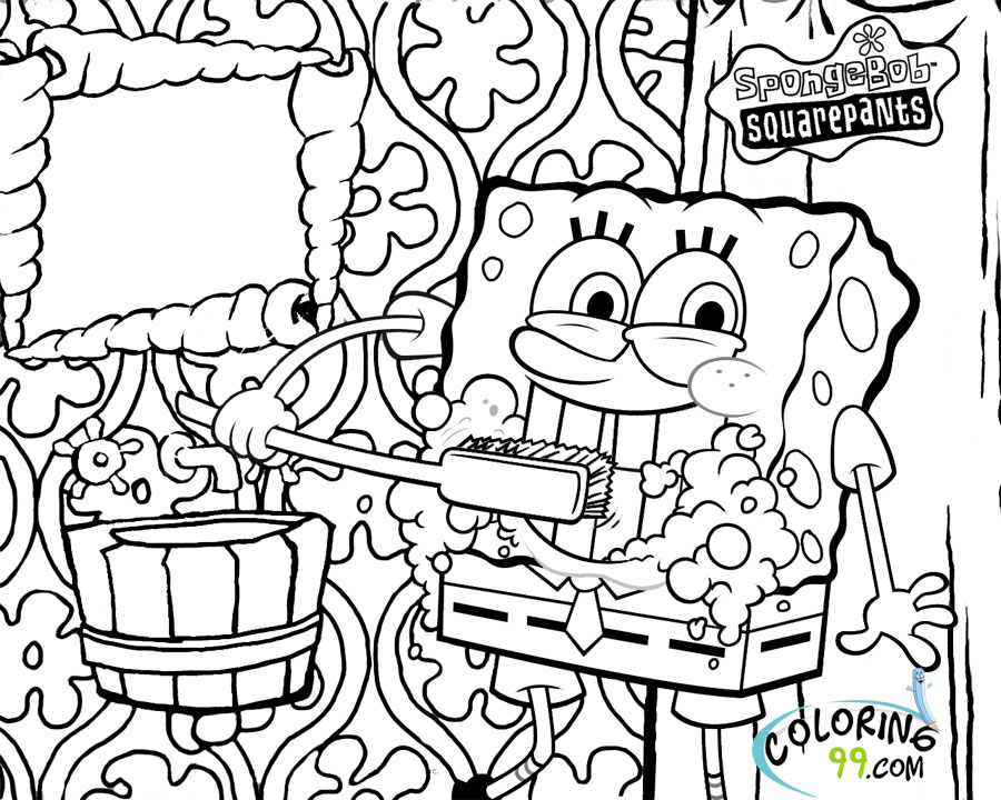 spongebob squarepants coloring sheet august 2013 team colors sheet spongebob coloring squarepants