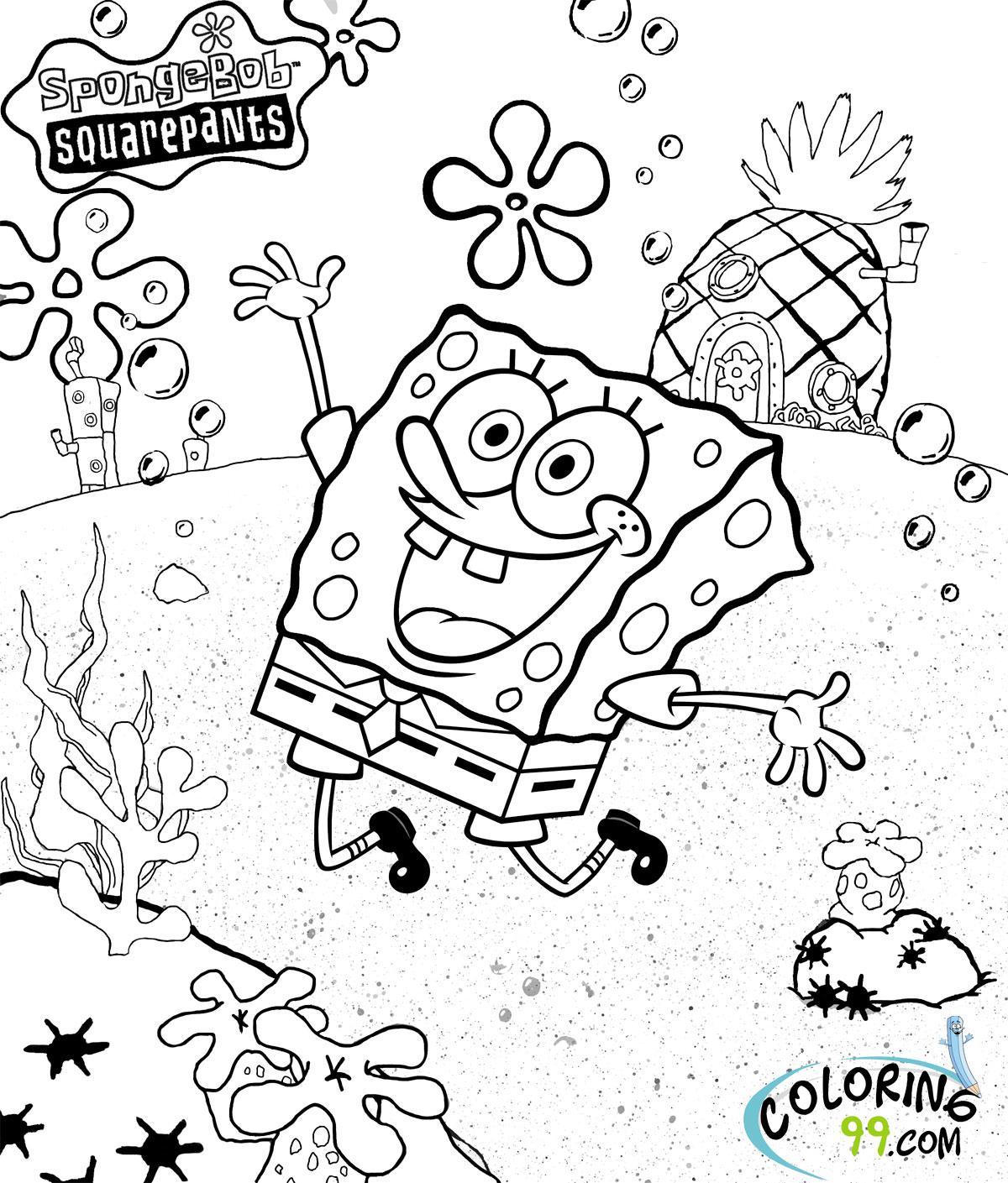spongebob squarepants coloring sheet transmissionpress spongebob coloring pages sheet squarepants coloring spongebob