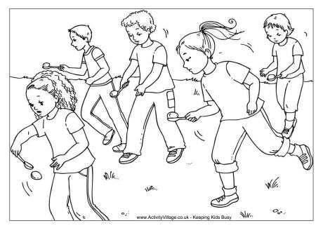sports day colouring hurdles colouring page colouring sports day