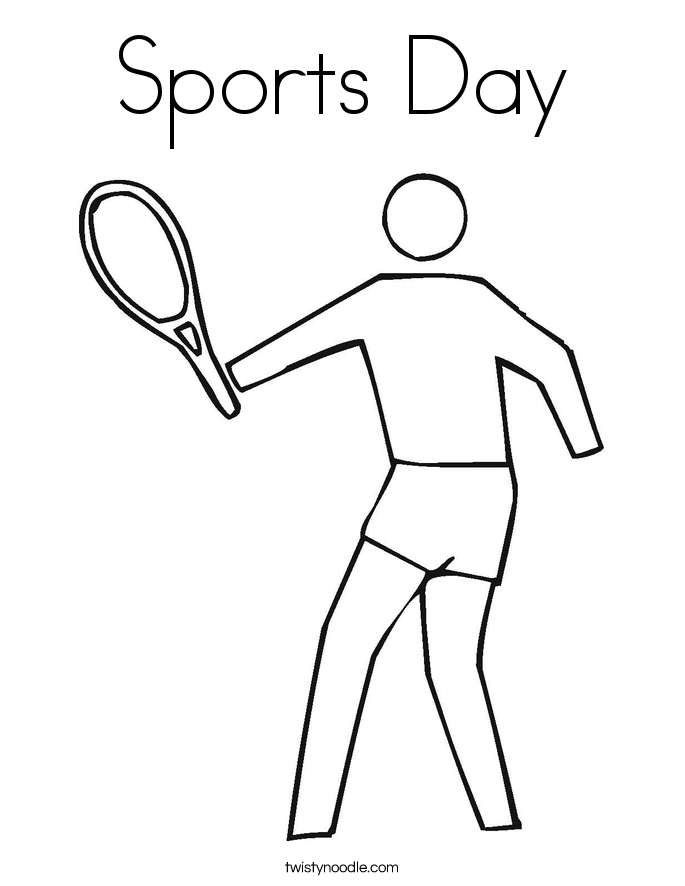 sports day colouring madi illustration freebies colouring day sports