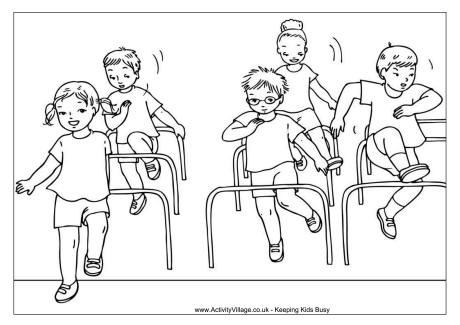 sports day colouring three legged race colouring page colouring day sports
