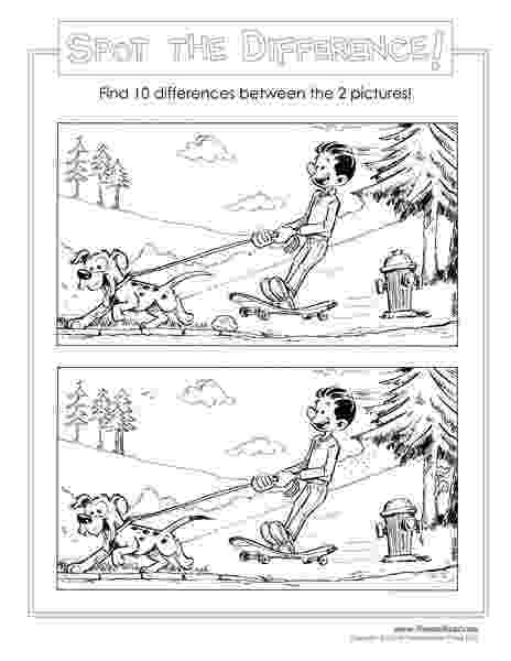 spot the difference puzzles to print 26 best spot the difference images on pinterest bear difference print puzzles to spot the