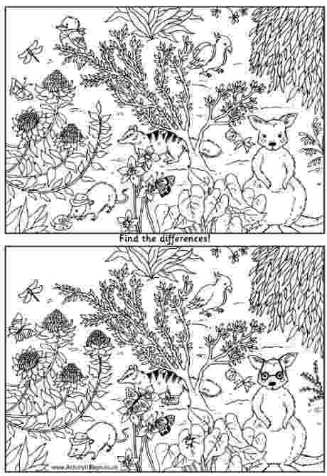 spot the difference puzzles to print fun games for kids reachout committee puzzles the spot difference print to