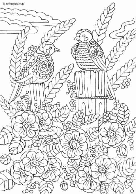 spring birds coloring pages transmissionpress spring birds coloring page spring pages birds coloring