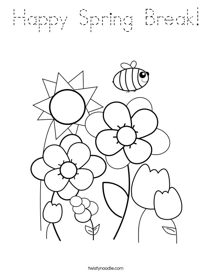 spring break coloring pages spring spring chicks coloring page spring coloring page pages coloring break spring