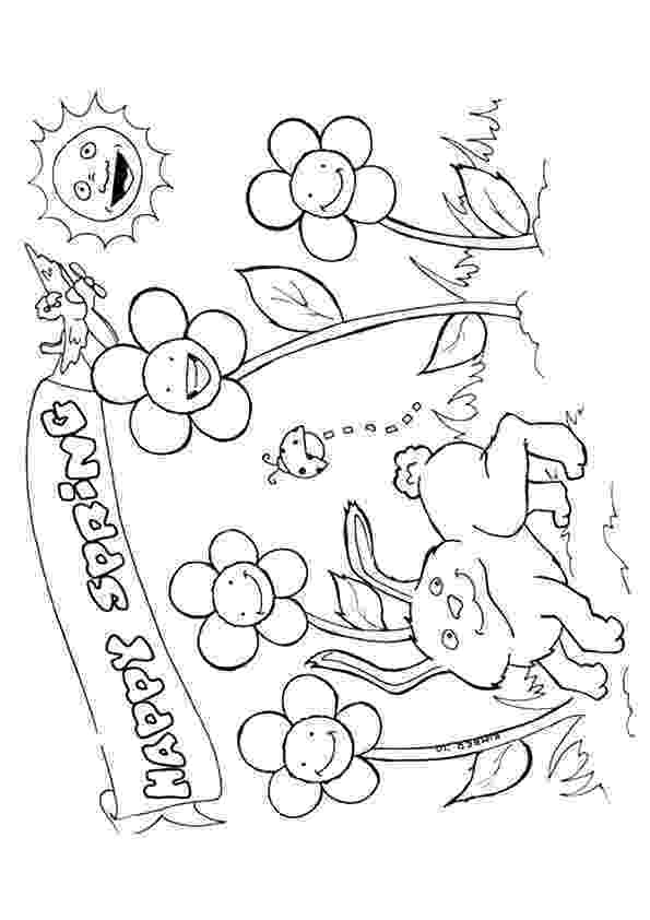 spring coloring pages spring coloring pages best coloring pages for kids coloring spring pages 1 1