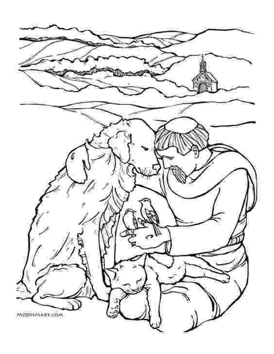 st francis coloring page 100 best images about coloring pages for catholic kids on francis page st coloring