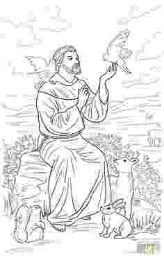 st francis coloring page st francis clipart 20 free cliparts download images on st francis coloring page