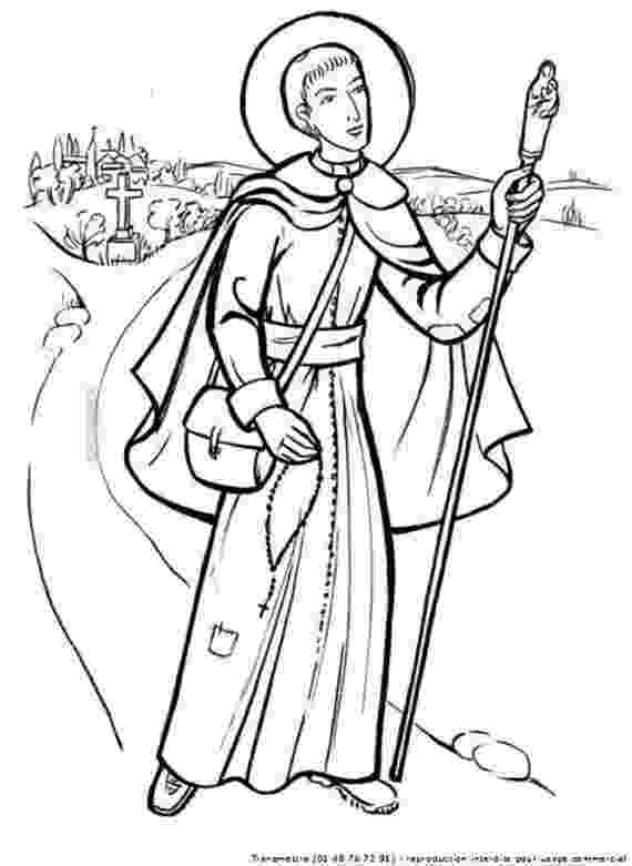 st francis coloring page st francis of assisi coloring pages for catholic kids francis coloring st page
