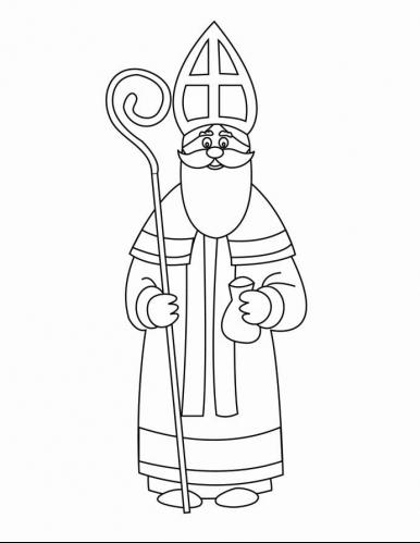 st nicholas coloring page coloring page saint nicholas day coloring pages pinterest st page coloring nicholas