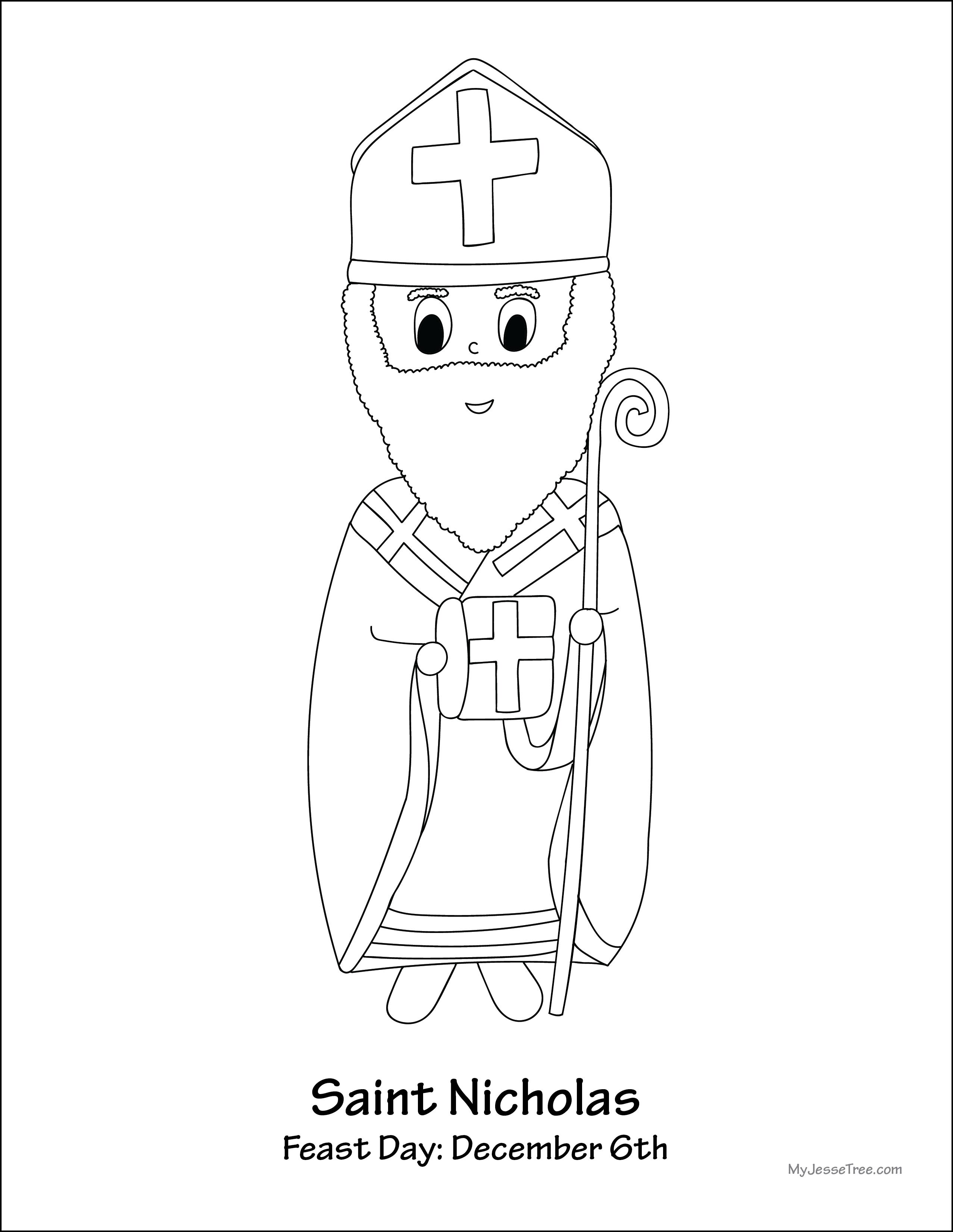 st nicholas coloring page saint nicholas coloring page coloring home nicholas st coloring page