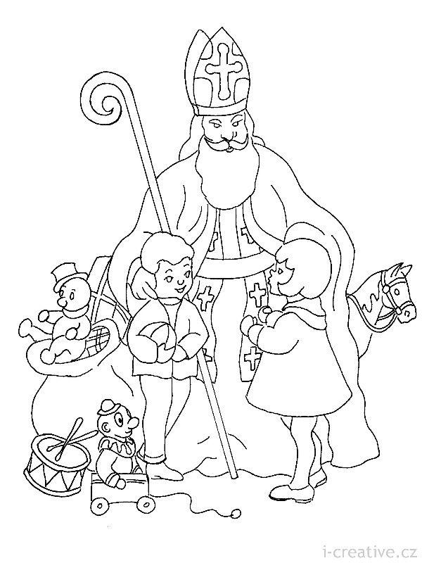 st nicholas coloring page saint nicholas coloring page free printable coloring pages coloring nicholas st page