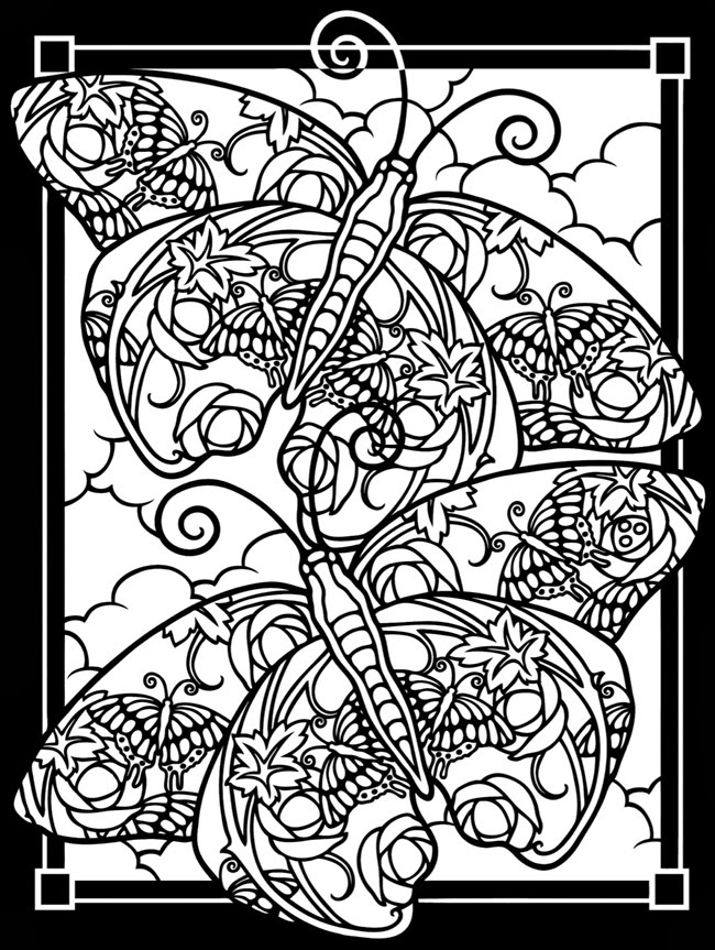 stained glass coloring page inkspired musings what poland and california have in common stained page coloring glass