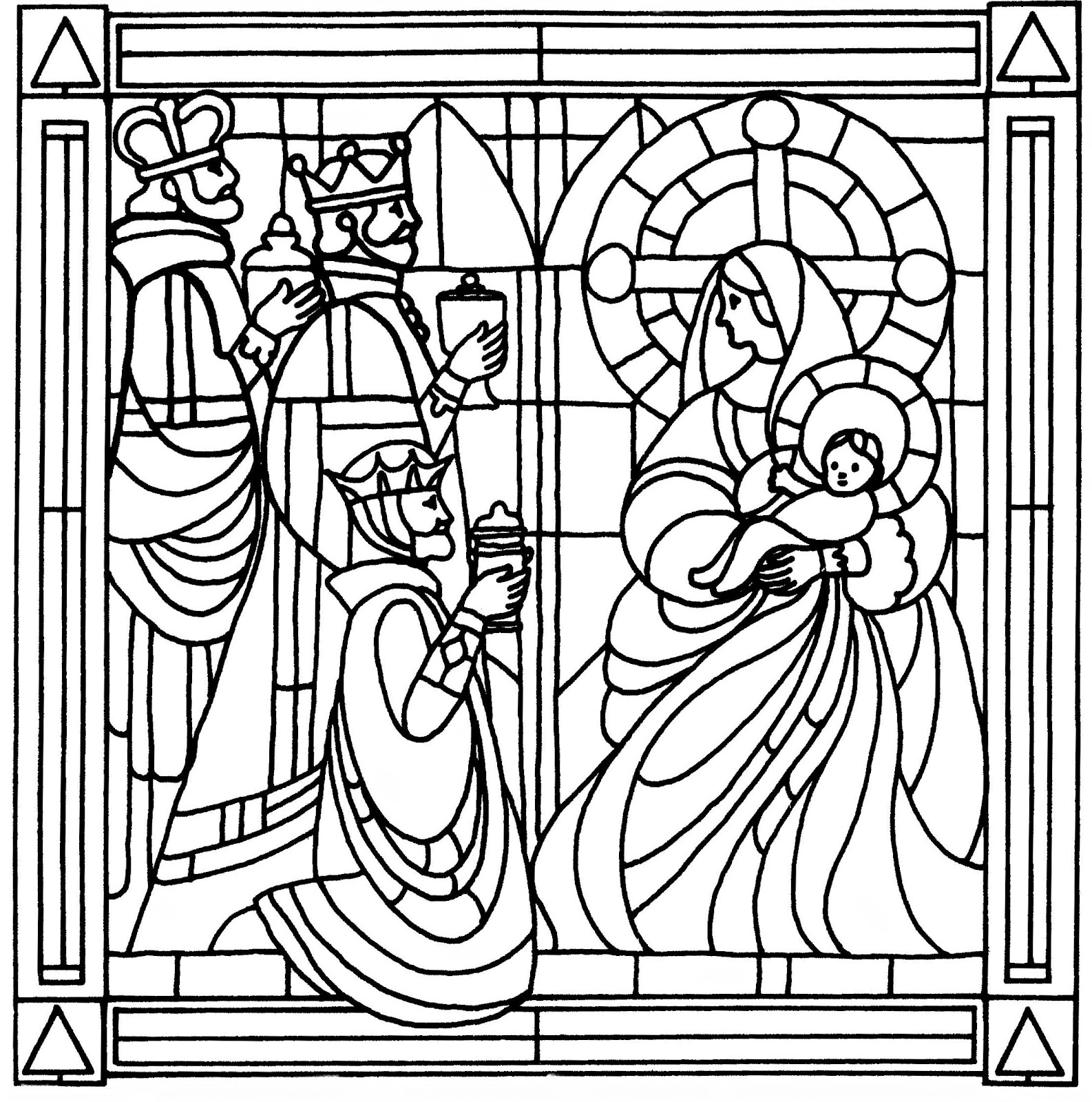 stained glass coloring page light of the world color the bible page coloring glass stained