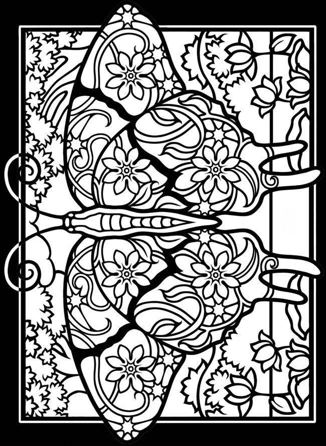 stained glass coloring page poniacze stained glass coloring page stained glass