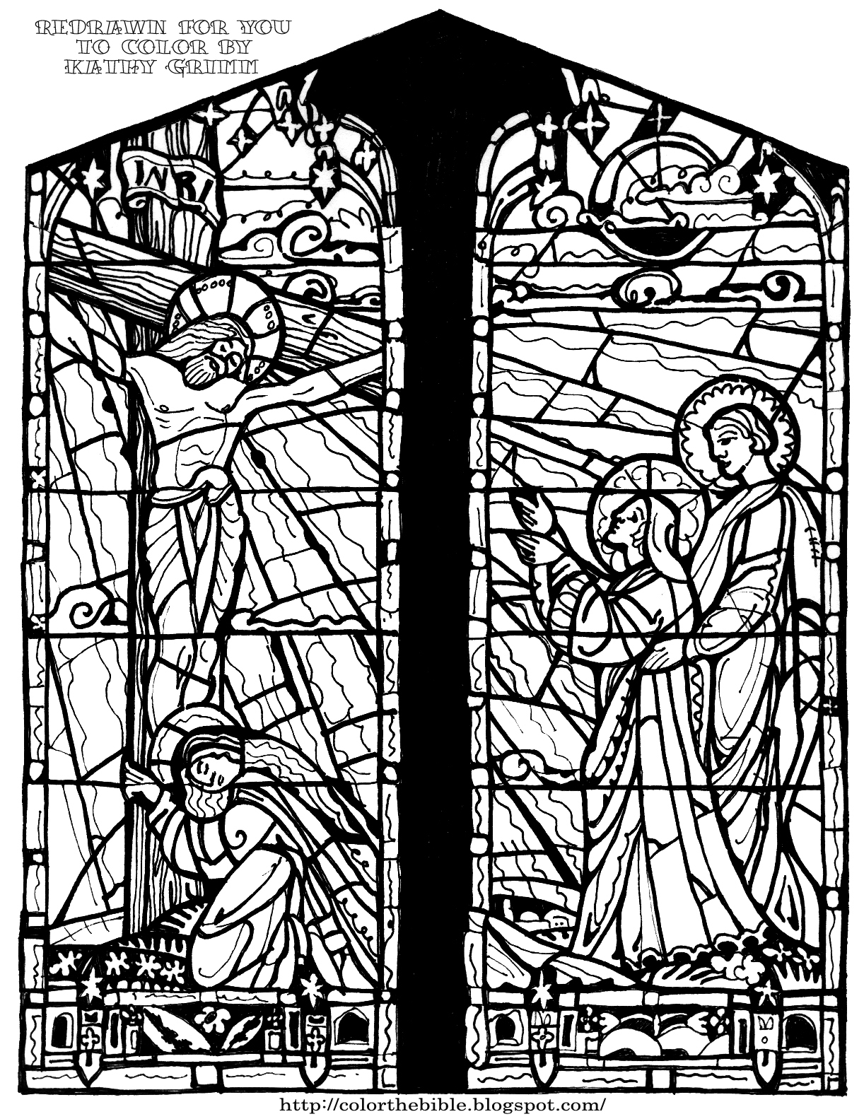 stained glass coloring page stained glass bible kids coloring activity kids answers glass coloring stained page