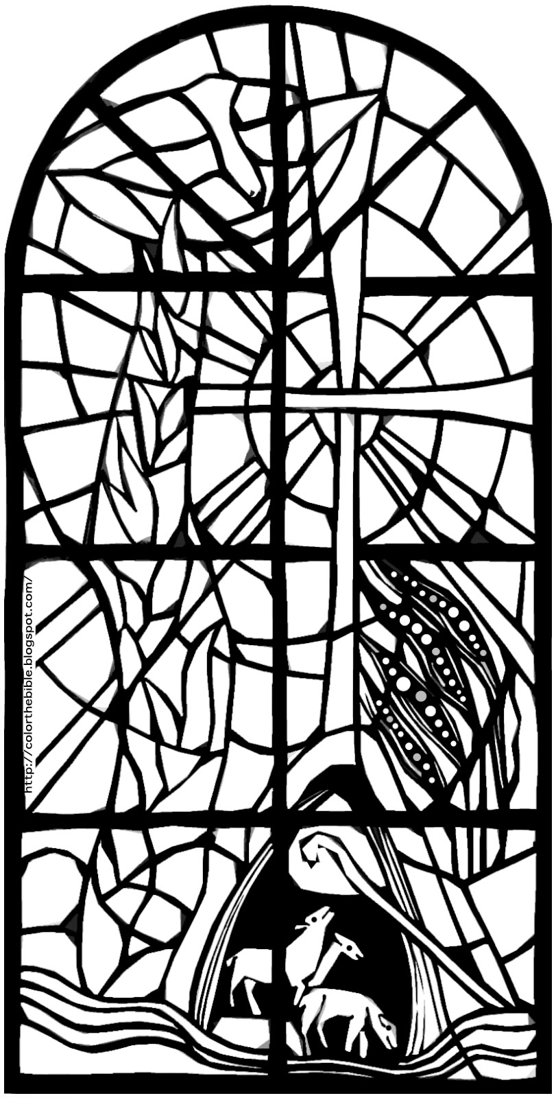 stained glass coloring page stained glass window worksheet educationcom page coloring glass stained